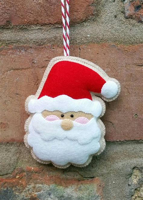 17 best ideas about santa ornaments on pinterest xmas