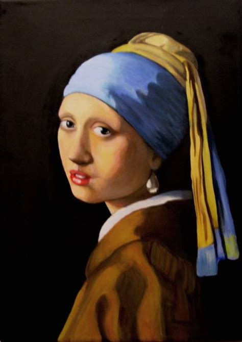 comprar cuadro la joven de la perla cuadros la joven con arete de perla jorge morales artelista com