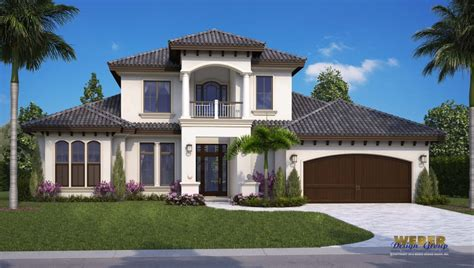 mediterranean house plans with photos 2018 mediterranean style home plan by naples architects via fontana