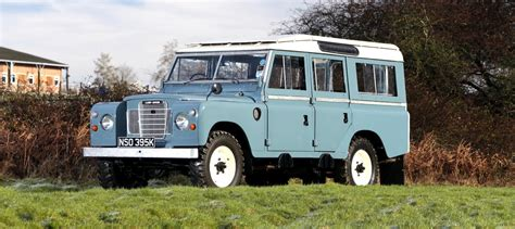 land rover series iii 1972 land rover series iii 109 quot safari revivaler