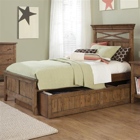 rustic full size bed rustic full size trundle beds home ideas collection make your room with a full