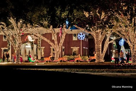 panoramio photo of christmas lights at river oaks