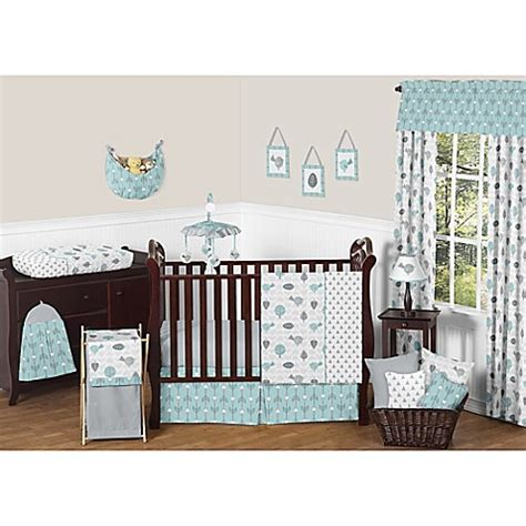 Jojo Design Crib Bedding Sweet Jojo Designs Earth And Sky Crib Bedding Collection Buybuy Baby
