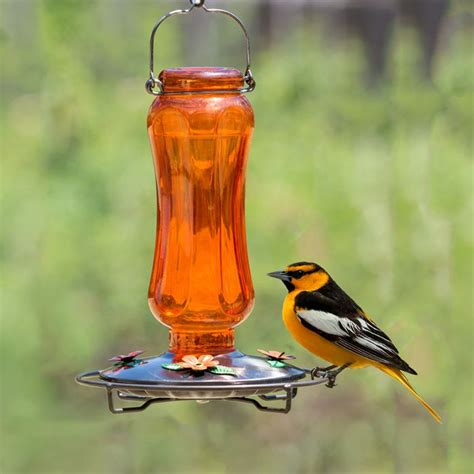 perky pet 174 carnival glass vintage oriole feeder 8135 2