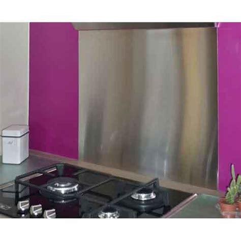 plaque adh駸ive inox cuisine cr 233 dence en inox 90 x 75 cm plaque inox 1 mm cr 233 dence