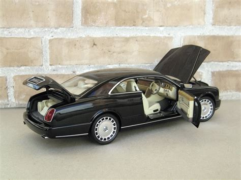 bentley brooklands convertible minichs 1 18 bentley brooklands black dx sedan