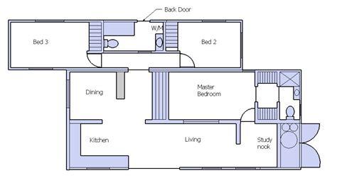 3 bedroom design plan