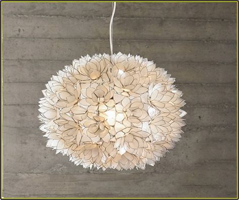 capiz lotus flower chandelier lotus flower chandelier cernel designs
