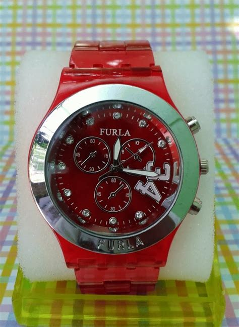 Jam Tangan Warna Merah jam tangan cantik furla banyak warna