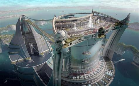 futuristic architectural building design iroonie