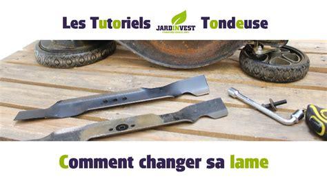Montage Lame Tracteur Tondeuse by Tutoriel Tondeuse N 176 1 Comment Changer La Lame De Votre