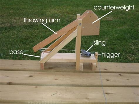 backyard trebuchet complete plans for a small trebuchet with lots of pictures diy trebuchet