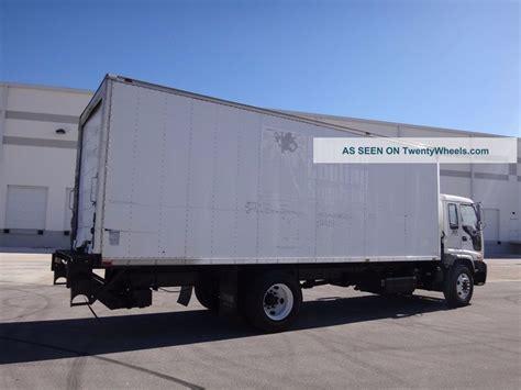 2005 isuzu ftr 24ft box truck