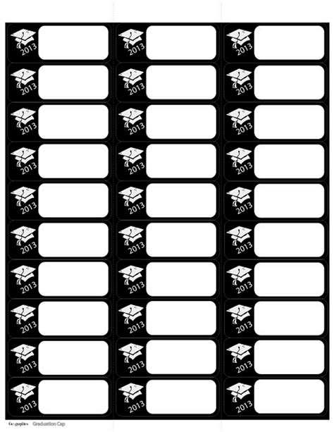 graduation labels template free 25 images of geographic s template mailing labels