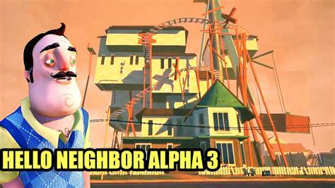 la casa 3 hello alpha 3 actualizaci 243 n desarrollador