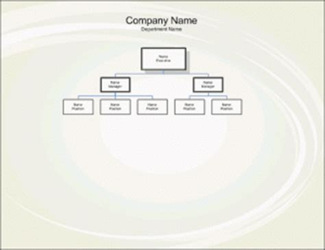 organogram template free word templates