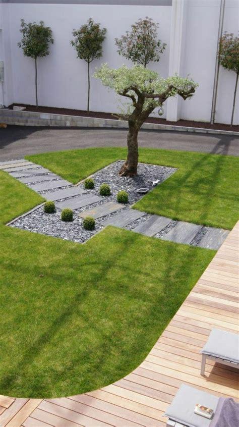 Schmale Bäume Für Kleine Gärten by Dekoideen 187 Gartengestaltung Beispiele Mit Kies