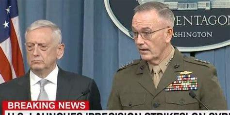 james mattis syria secretary james mattis general joseph dunford explain us