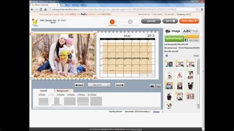 make your own wall calendar design your own wall calendar for home or office