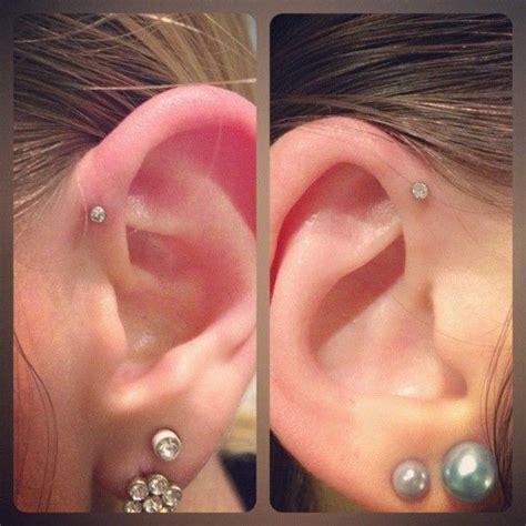 single forwarding single forward helix piercing wants