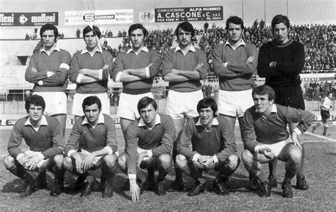 rosa pavia calcio serie b 1969 1970