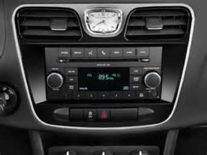 Chrysler Radios 2011 Chrysler 200 Touring Convertible Interior Radio Photo