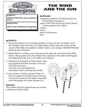 activity sheets for kindergarten in reading kindergarten