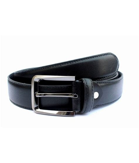 tops black leather belt buy at low price in