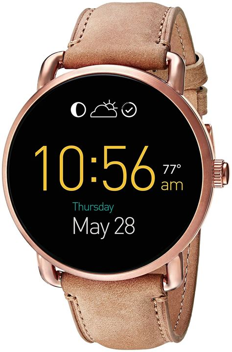 Smartwatch Fossil Q Wander fossil has launched a wide range of wearables in india