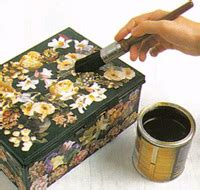 Define Decoupage - basic decoupage arts and crafts center