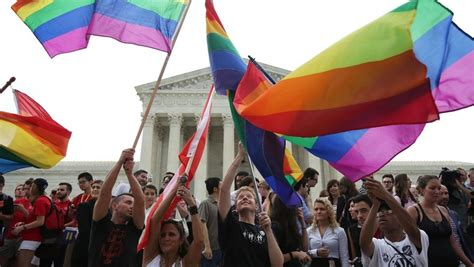 supreme court ruling on marriage groups celebrate supreme court ruling on