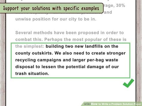 how to write a problem how to write a problem solution paper 13 steps with