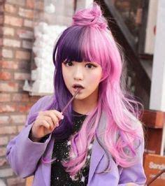 old japanese ladies purple hair todays hair inspiration on pinterest japanese short hair