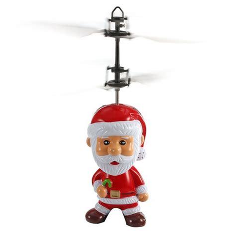 volante giocattolo babbo natale volante giocattolo con sensore per bambini