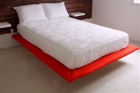 diy floating platform bed diy slatted headboard with upholstered floating platform