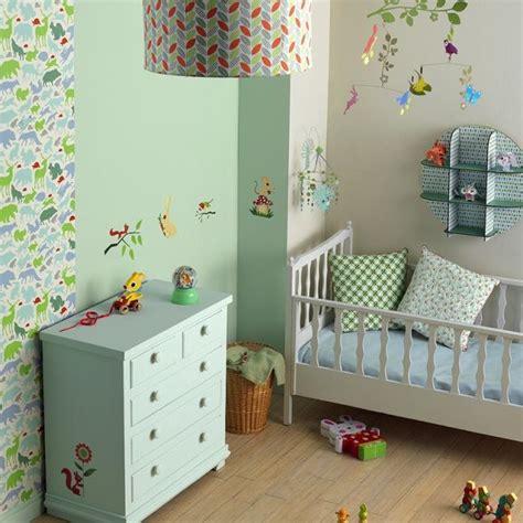 chambre enfant mixte chambre bebe mixte theme nature djeco picslovin