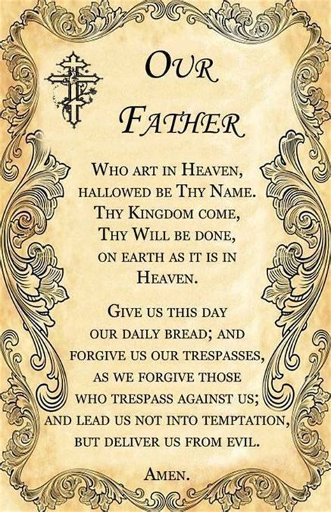 prayer before bed catholic our father prayer journal pinterest catholic the
