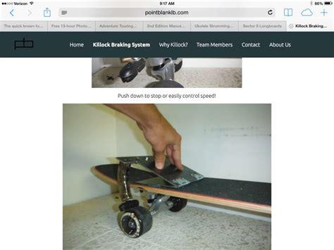 longboard skateboard with brake 26 best images about longboards on pinterest