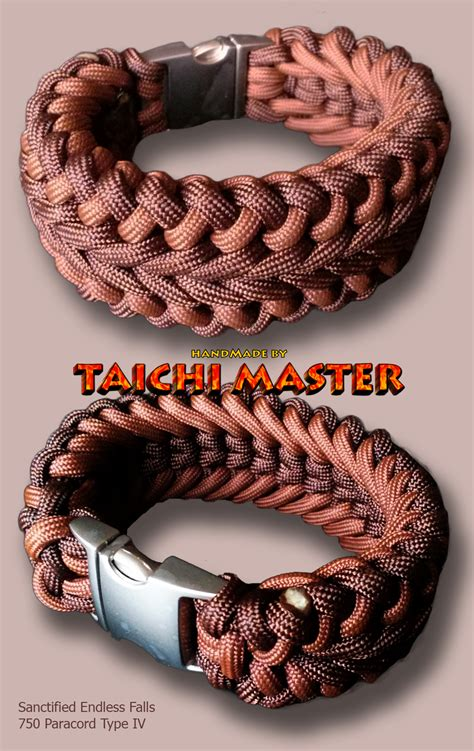 two color paracord bracelet two color scanctified endless falls paracord bracelet