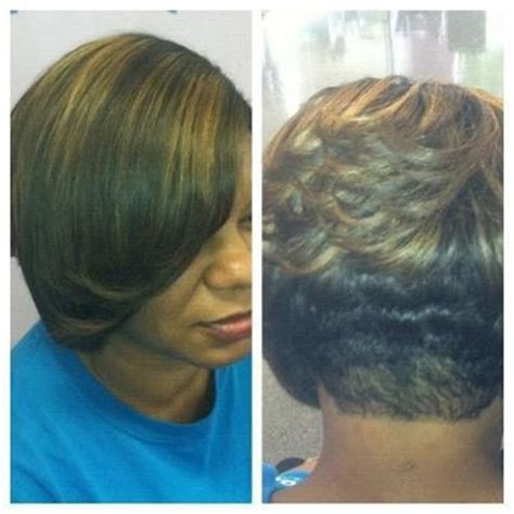 hump weeve hairstyle quick weave up do low hump w pony quick weave short