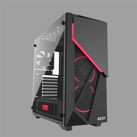 Cube Gaming Pc Skon White Azza Inferno 310 Un Boitier Qui Ne Manque Pas De Style