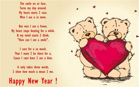 new year greetings poem happy new year wishes for husband hubby greetings