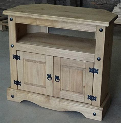 furniture corona corner tv unit storage cabinet wooden