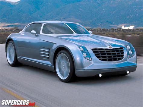 chrysler supercar 2001 chrysler crossfire concept chrysler supercars