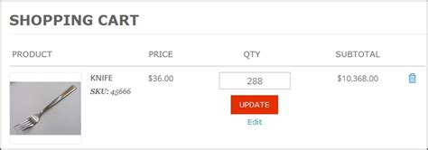 update cart event magento how to make magento checkout cart input readonly and