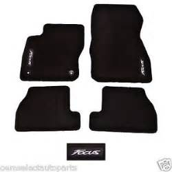 Ford Focus Floor Mats Oem New 2012 2014 Ford Focus Embroidered Logo Black Carpet