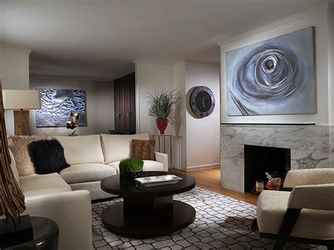 modern living room art modern living room with blue wall art hgtv