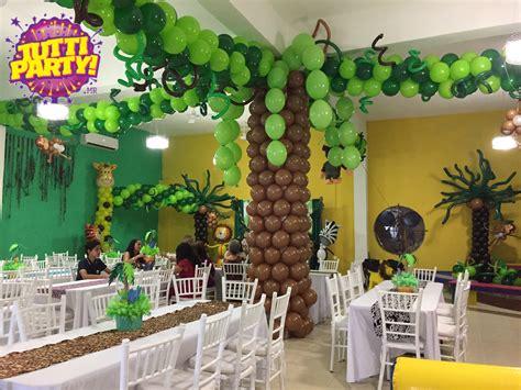 como decorar un salon de selva jungle party ideas animals party ideas animales de la