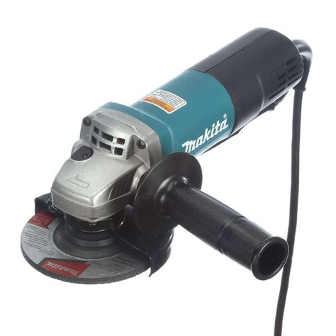 Makita 7.5 Amp 4 1/2 in. Paddle Switch Angle Grinder 9557PB The Home Depot