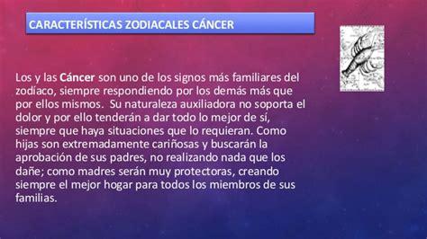 cancer caractersticas del signo zodiacal cncer de caracteristicas zodiacales de cancer